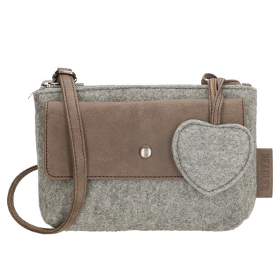 Beagles Marbella Ladies Shoulder/Sling Bag - Light Grey 17538-A