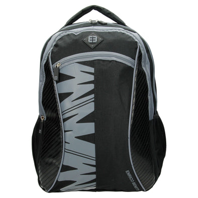 Enrico Benetti Natal Polyester 35 litres Backpack - Black & Grey 06