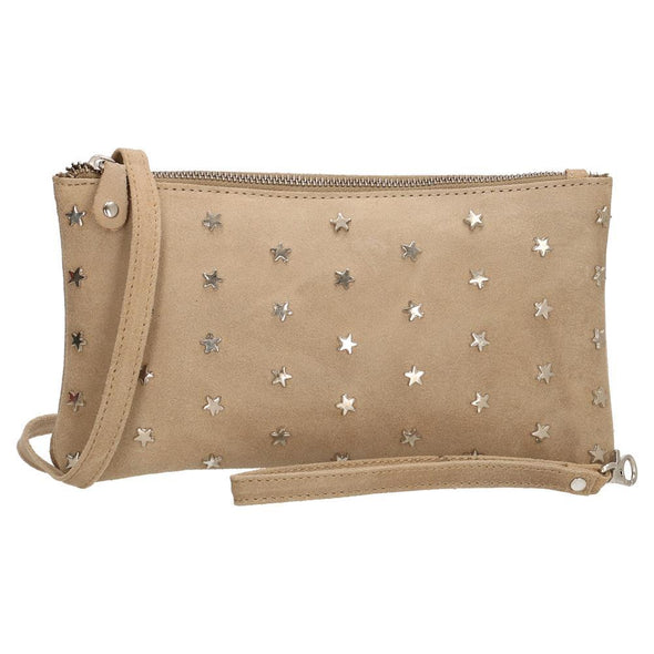 Charm London Leather Ladies Hand Bag - Sand