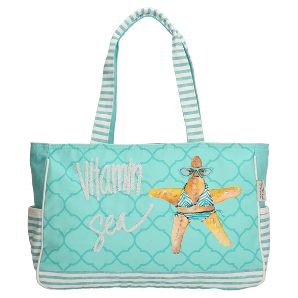 PE-Florence Vitamin Sea Ladies Shoulder Bag - Blue
