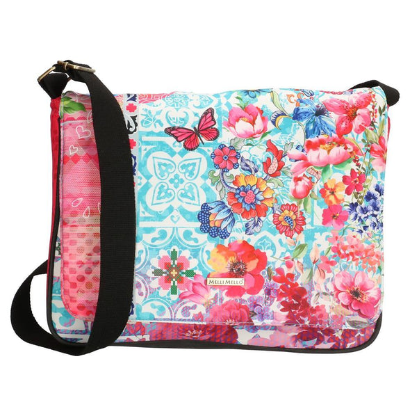 Melli Mello Lyan Ladies Shoulder Bag - Colourful 17133-BLOEM