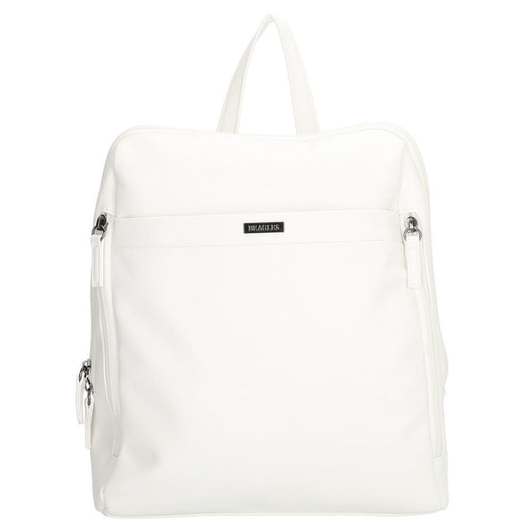 Beagles Arzobispo Ladies PU Backpack - White