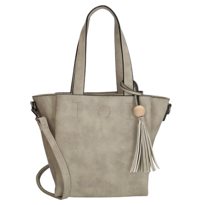 Charm London Covent Garden Ladies Shoulder Bag - Light Grey 16780