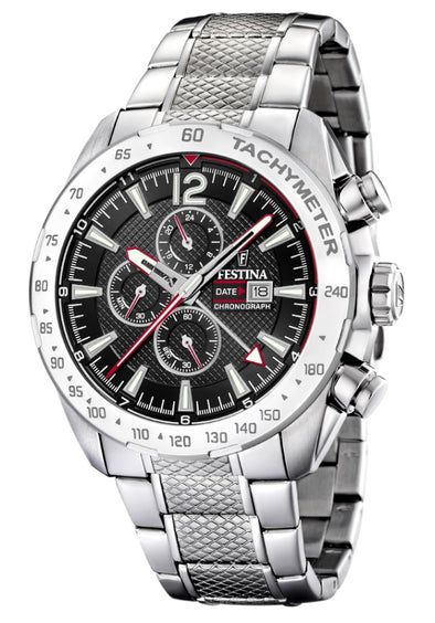 Festina Chrono Sport Analogue Men's Wrist Watch - Stainless Steel F20439/4