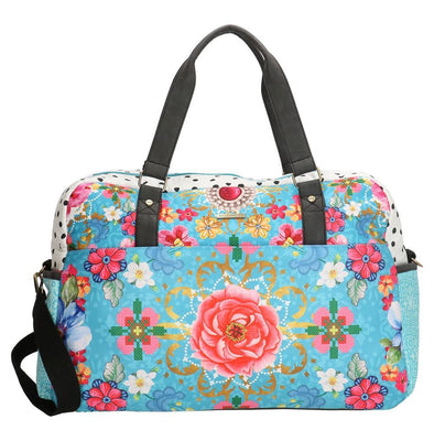 Melli Mello Lyan Unisex Travel Bag - Pink & Blue