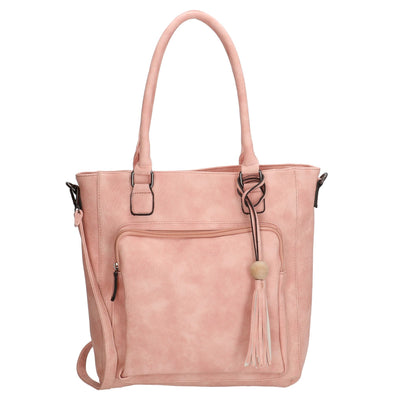 Charm London Covent Garden Ladies Shopper Bag - Pink 16778