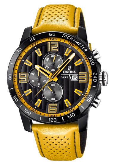 Festina The Originals Analogue Men's Wrist Watch - Yellow F20339/3