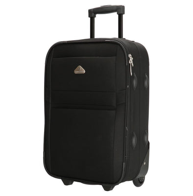 Enrico Benetti Louisiana Unisex Suitcase - Black