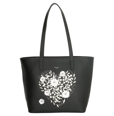 David Jones Paris Ladies Shopper/Tote Bag - Black CM3859