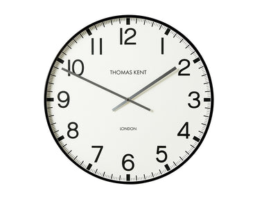 Thomas Kent 74cm Smith Arabic Round Analog Wall Clock - White