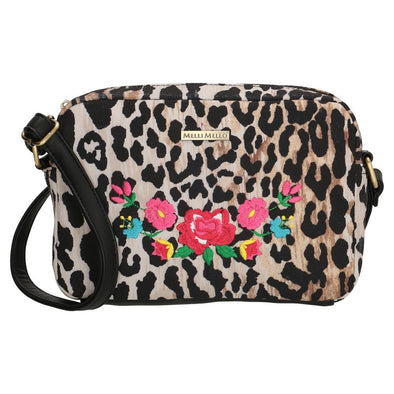 Melli Mello Lorena Leopard Print Ladies Shoulder Bag 17659