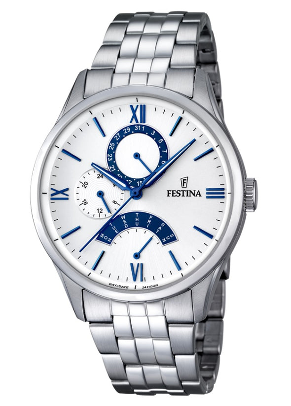 Festina Retro Classic Stainless Steel Analogue Men's Wrist Watch F16822-5