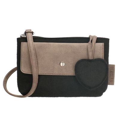 Beagles Marbella Ladies Shoulder/Sling Bag - Black 17538-A