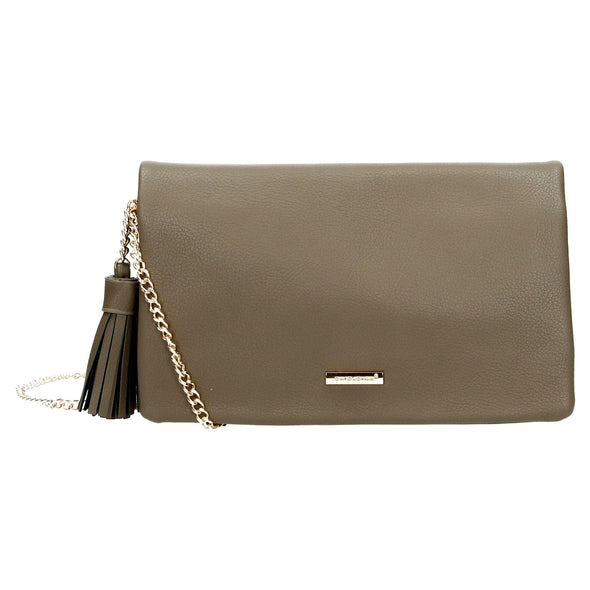 David Jones Paris Ladies Clutch - Dark Taupe 3512