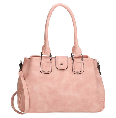 Charm London - Covent Garden Ladies PU Shopper Bag - Pink 16779