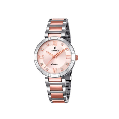 Festina Made Moiselle Analogue Ladies Wrist Watch - Silver F16937-E
