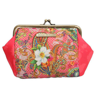 Melli Mello Pink Flower Ladies Wallet - Pink 17124