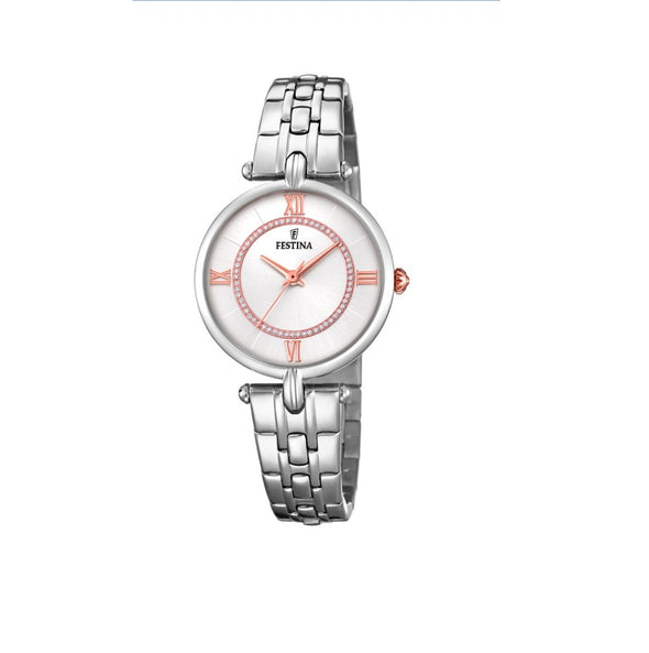 Festina Petite Stainless Steel Analogue Ladies Wrist Watch F20315-1