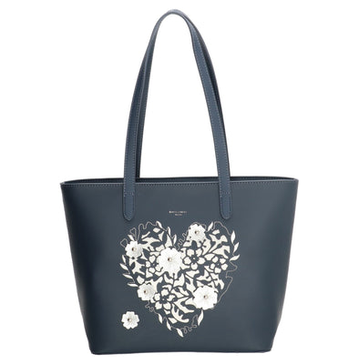 David Jones Paris Ladies Shopper Bag - Navy 3859