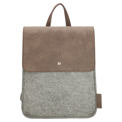 Beagles Marbella Ladies Backpack - Light Grey 17539-A