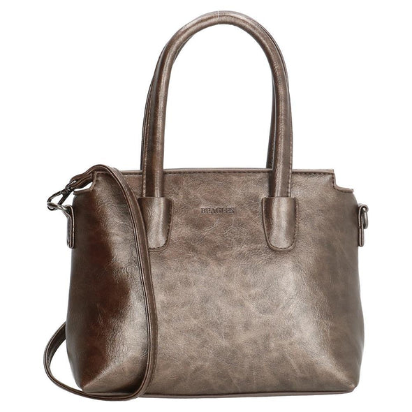 Beagles Torelo Ladies PU Shoulder Bag - Brown