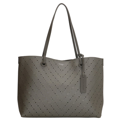 David Jones Paris Ladies Shopper/Hand Bag - Grey 3914