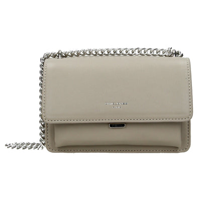 David Jones Paris Ladies Shoulder Bag - Grey 3710