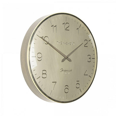 Thomas Kent 40cm Greenwich Morning Gold Round Wall Clock