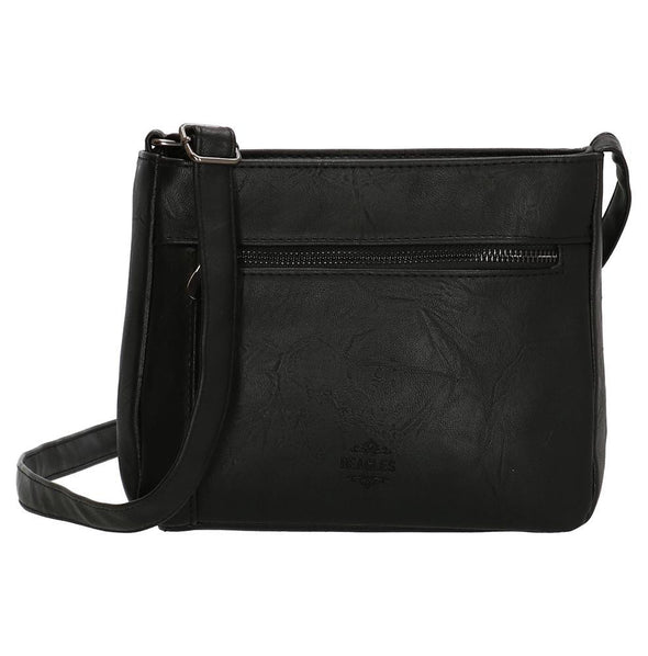 Beagles Lafiguera Ladies PU Leather Shoulder Bag - Black