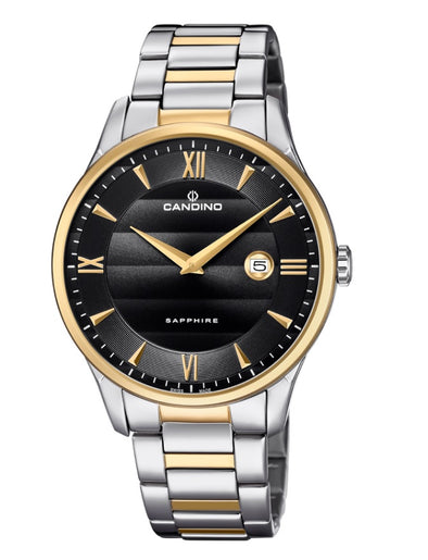 Candino Sapphire Swiss Made Mens Stainless Steel Watch - Classic Timeless