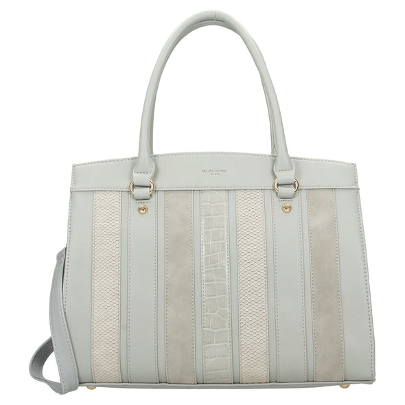 David Jones Paris Ladies Shopper/Hand Bag - Grey