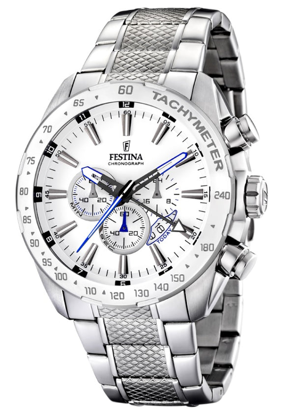 Festina Chrono Sport Analogue Men's Wrist Watch - Stainless Steel F16488/1