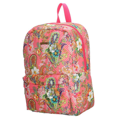 Melli Mello Pink Flower Ladies Backpack - Pink