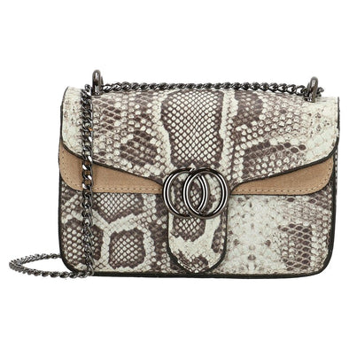 Charm London Elisa Leather Ladies Shoulder Bag - Taupe