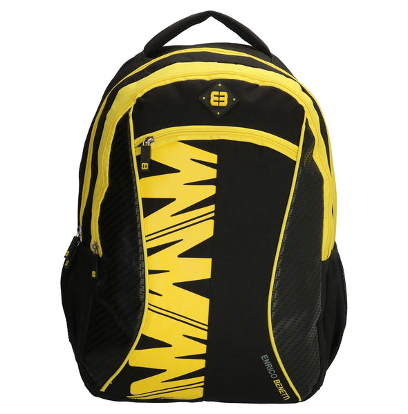 Enrico Benetti Natal Polyester 35 litres Backpack - Yellow 47106