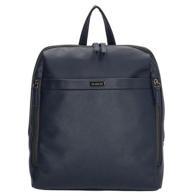Beagles Arzobispo Ladies PU Leather Backpack - Navy