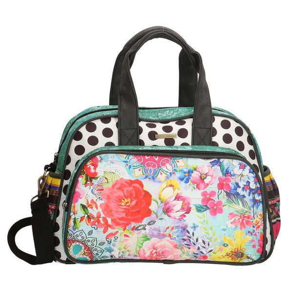 Melli Mello Flower&Leopard Ladies Diaper Bag - Colourful 17129
