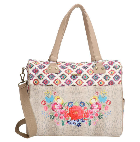 Melli Mello Elif Ladies Shoulder Bag - Beige