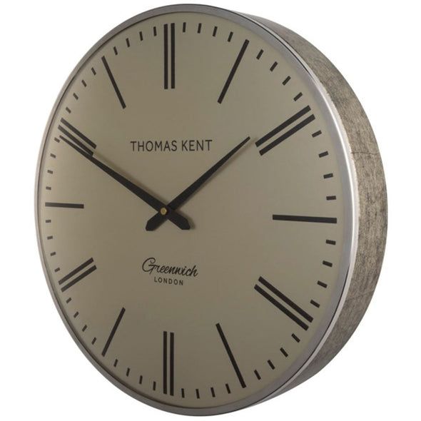 Thomas Kent 40cm Greenwich Gold-Silver Round Wall Clock - Parisan Gold