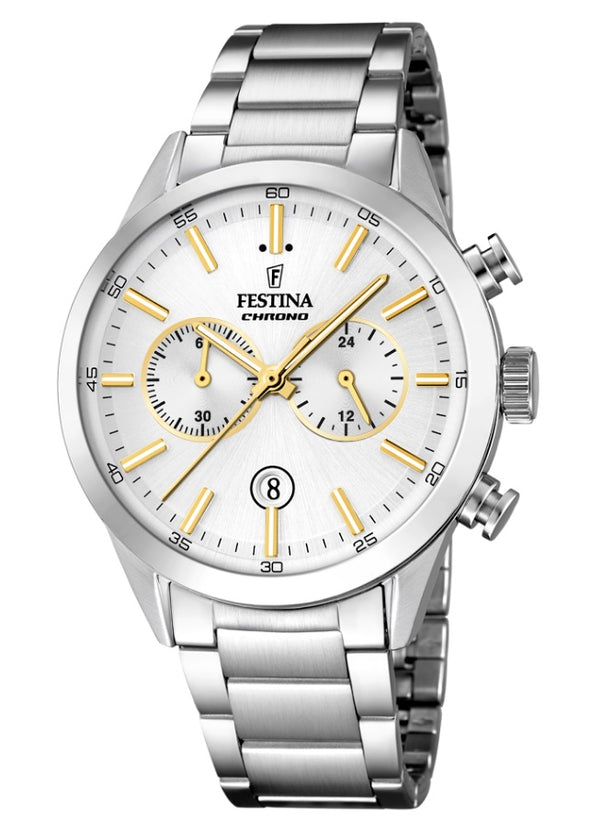 Festina Timeless Chronograph Analogue Men's Wrist Watch F16826/D