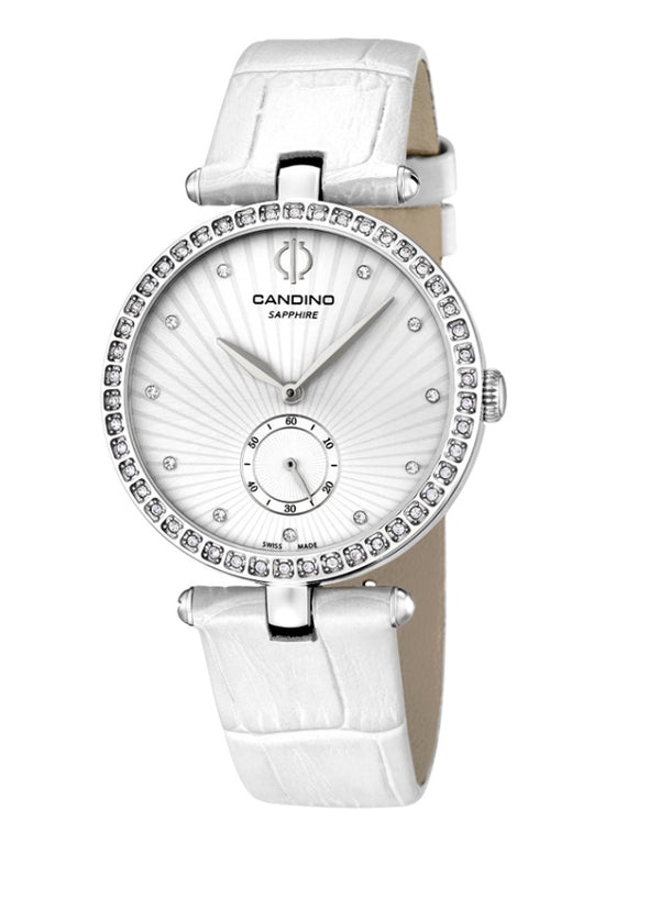 Candino Swiss Made Ladies Leather Watch Alpine - Lady Elegance Collection