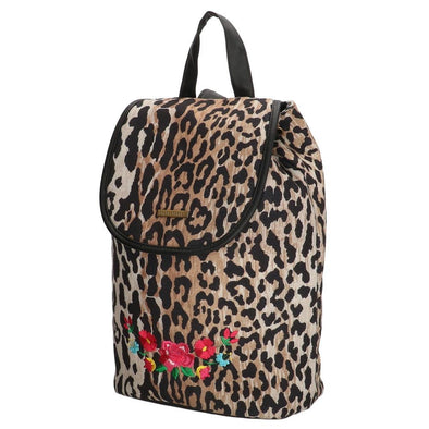 Melli Mello Lorena Leopard Print Ladies Backpack