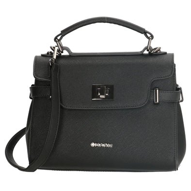 Charm London Birmingham Ladies Hand Bag - Black 17390