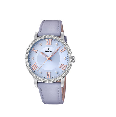 Festina Boyfriend Collection Analogue Ladies Wrist Watch - Blue F20412-3