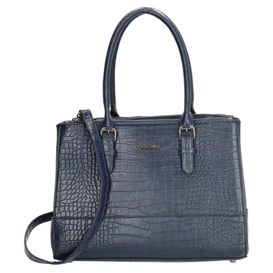 Charm London Greenwich Ladies Hand Bag - Navy 17392