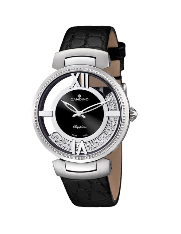 Candino Swiss Made Ladies Leather Watch - Lady Elegance Collection