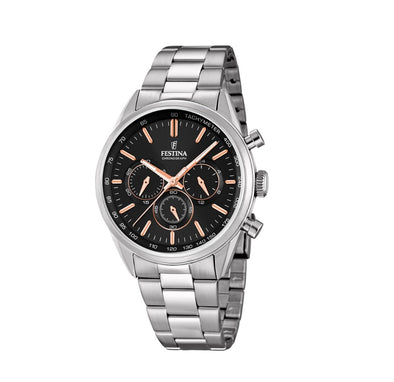 Festina Timeless Chronograph Analogue Men's Wrist Watch F16820/B
