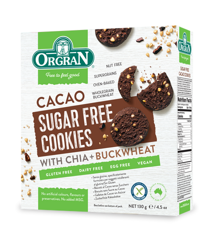 Cacao Sugar Free Cookies