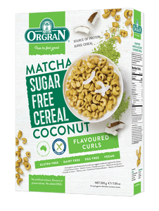 Sugar Free Matcha & Coconut Cereal