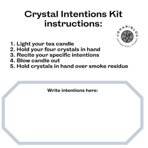 Depression Crystal Intention Pack